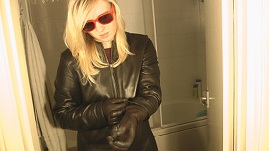 Girl-in-leather-jacket-leather-gloves
